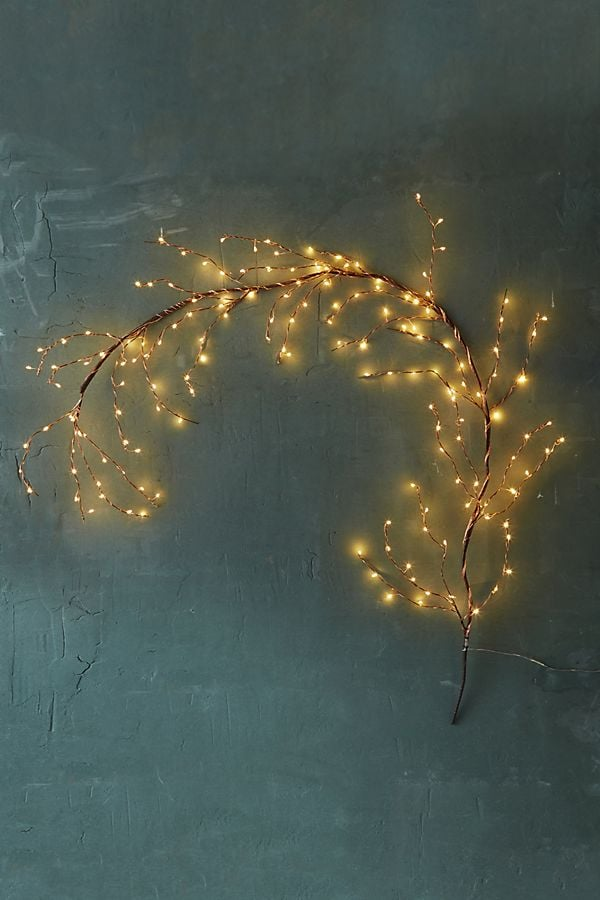 Stargazer Copper Twine Branch Light, 5' Plug-In