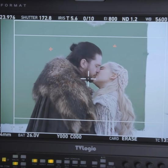 Kit Harington Kissing Emilia Clarke Game of Thrones Video