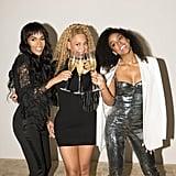 Beyoncé, Destiny's Child at Dundas Opening in LA April 2018
