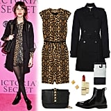 Forget the sparkles — be inspired by Alexa Chung, and go with a bold leopard-print palette this New Year's Eve.