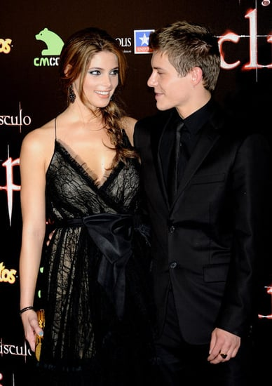 "Ashley Greene and actor Xavier Samuel attend ""The Twilight Saga: Eclipse"" Premiere in Madrid, Spain"
