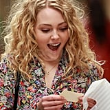 AnnaSophia Robb was in NYC filming a scene from The Carrie Diaries.
