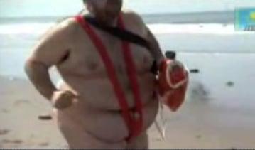 Borat Does Baywatch
