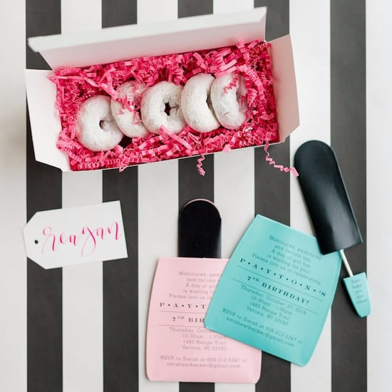 Kate Spade Spa Birthday Party
