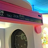 EVA Air has Hello Kitty airport terminals, beginning the excitement before passengers even board the Sanrio jet.