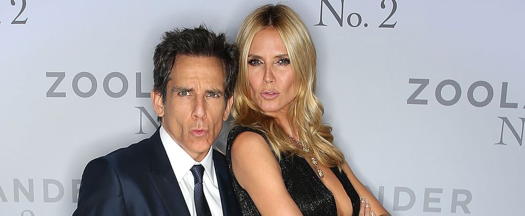 "Derek Zoolander Teaches Heidi Klum How to Properly Do the ""Blue Steel"" on the Red Carpet"