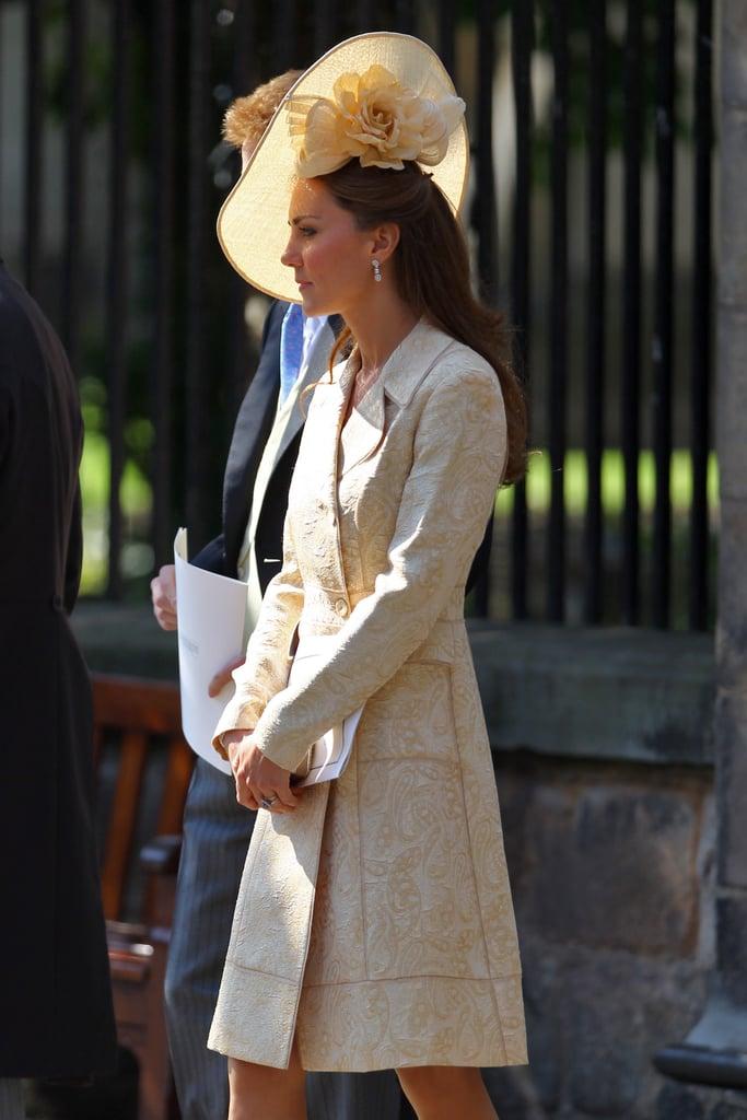 Kate Middleton S Wedding Guest Dresses Popsugar Fashion