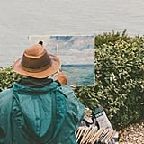 Paint outdoor landscapes.