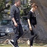 Ben Affleck and Jennifer Garner During Divorce Rumors