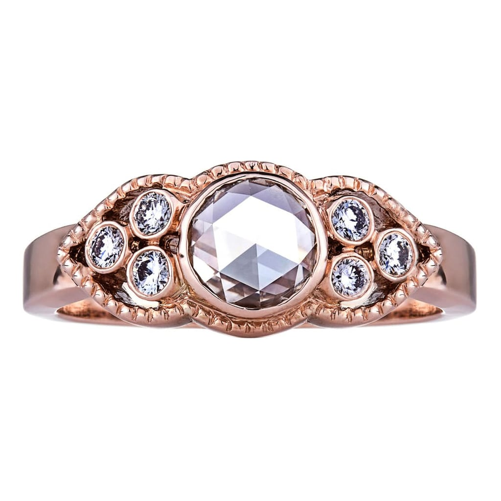 Sethi Couture Sienna Champagne and White Diamond Ring