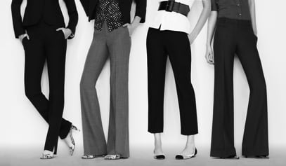 Fab Flash: Bloomingdale's and Theory's Spring Slacks