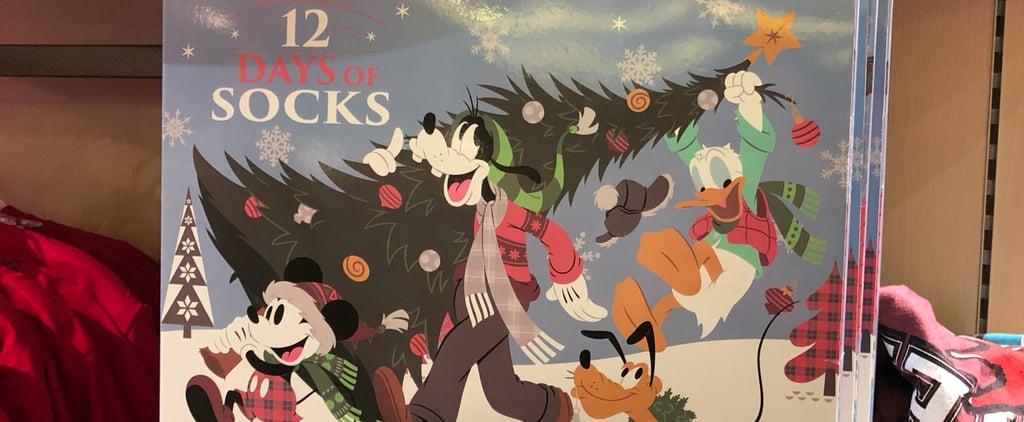 Disney Christmas Socks Advent Calendar 2018