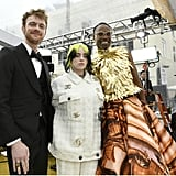 Finneas O'Connell, Billie Eilish, and Billy Porter at the 2020 Oscars