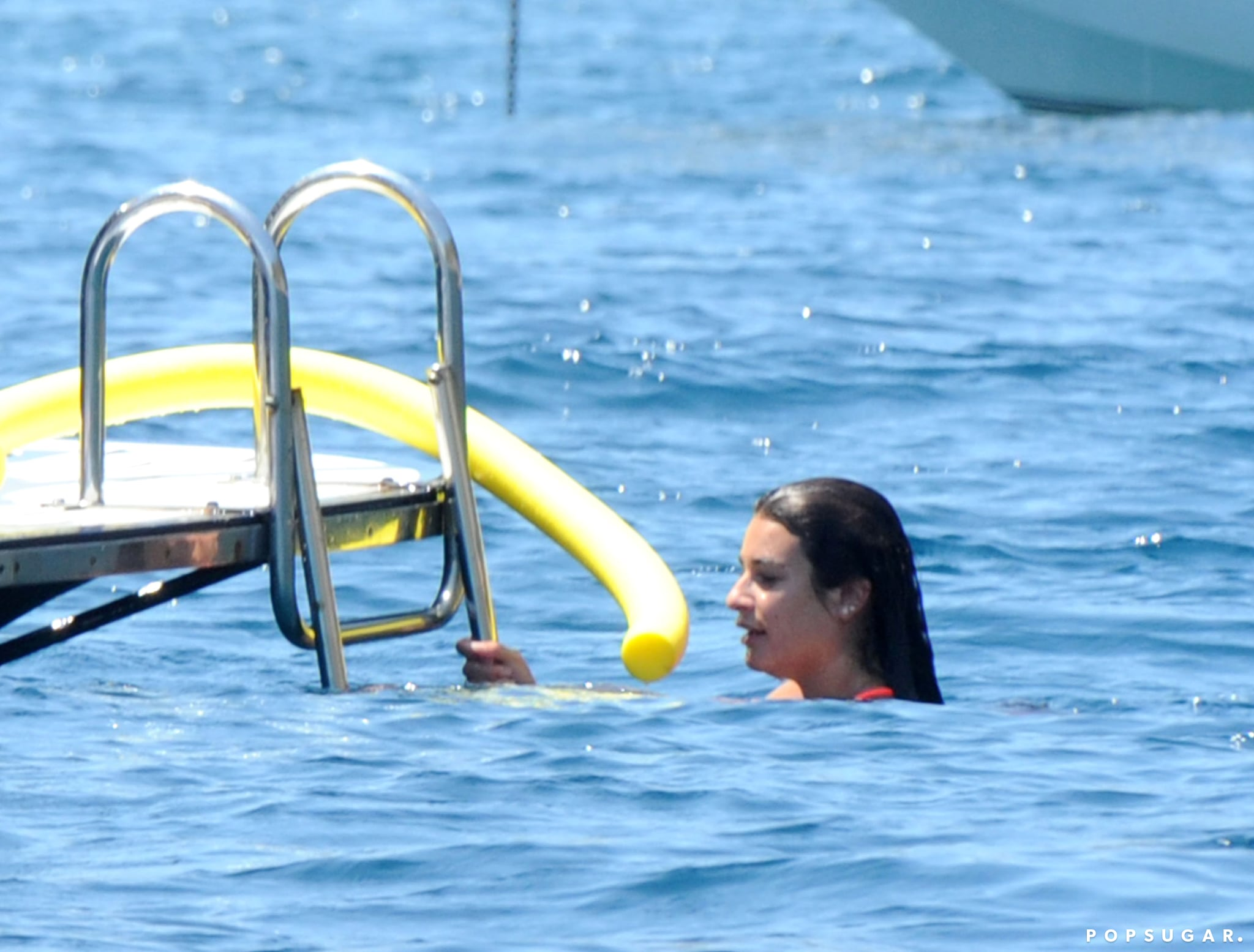 Exclusive: Lea Michele and Her New Boyfriend Heat Up Italy With PDA