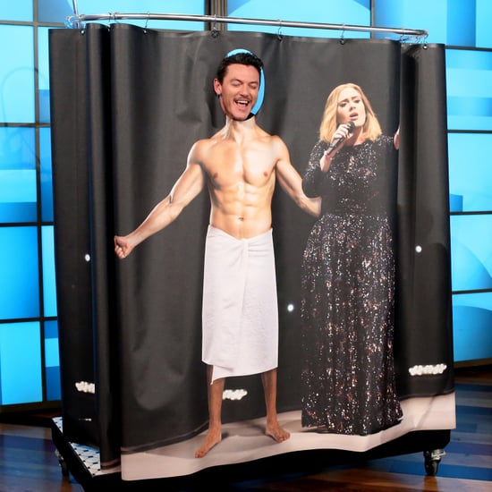 Luke Evans on The Ellen DeGeneres Show March 2017