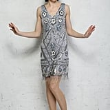 Rock My Flapper Grey Fringed Flapper (£135)