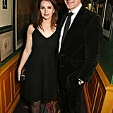 Felicity Jones and Charles Finch