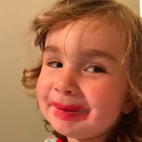 Video of Little Girl Talking About Home Depot Lipstick