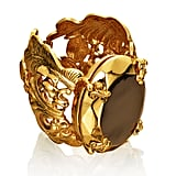 Editors' Pick: The Baroque-inspired style of the ring makes it feel like a vintage piece, rather than something you just bought new. Plus, the earthy tone of the gem makes us think it will complement many of the things in your Fall wardrobe.