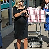 Reese Witherspoon wore all black to the grocery store.