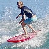 Scott Caan went surfing in Malibu on Sunday.