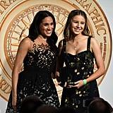 Meghan Markle's Oscar de la Renta Dress October 2018