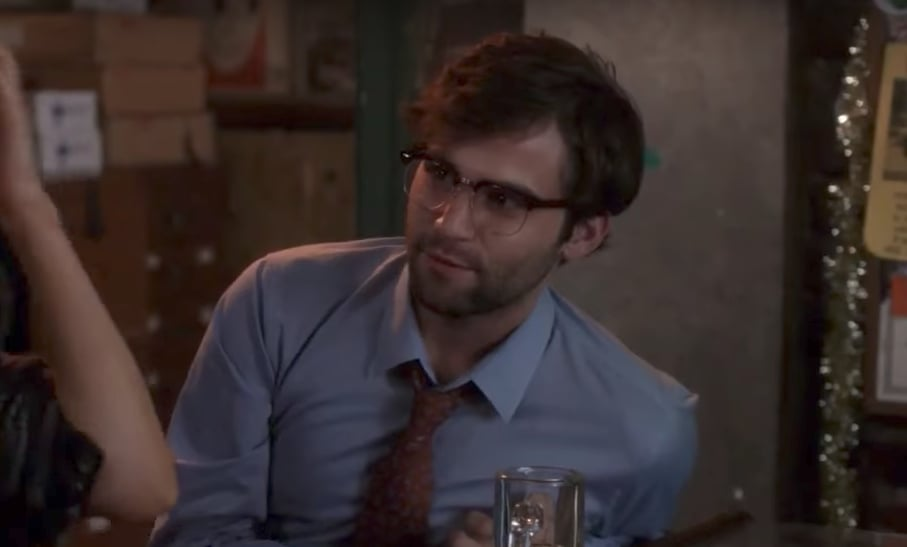 "Jake Borelli as Levi ""Glasses"" Schmitt"