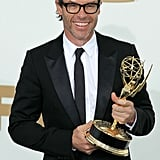 Guy Pearce in the Emmys press room.