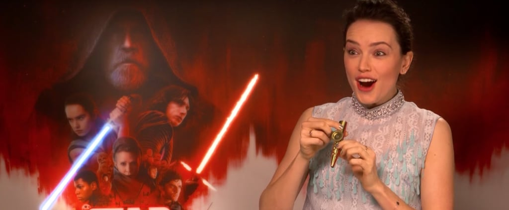 Daisy Ridley Playing Star Wars Theme Song on Kazoo