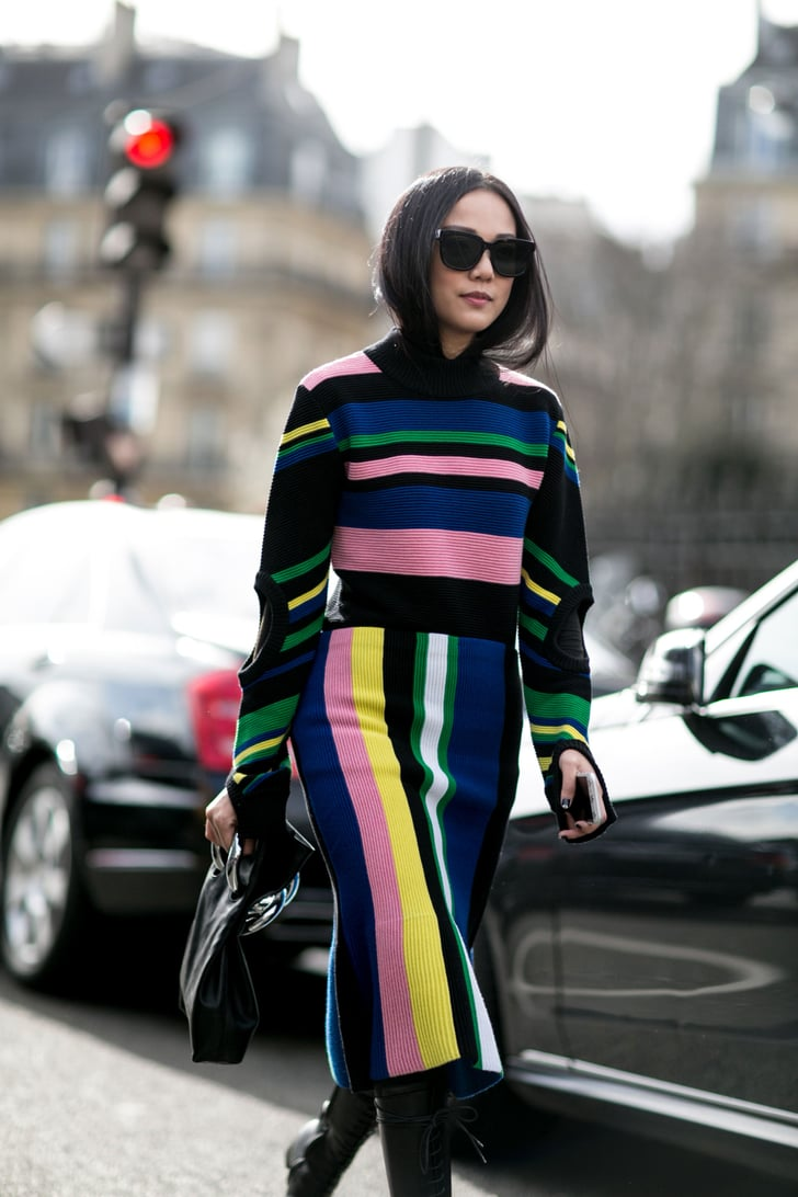 Day 2 See The Best Street Style From All Of Paris Fashion Week Popsugar Fashion