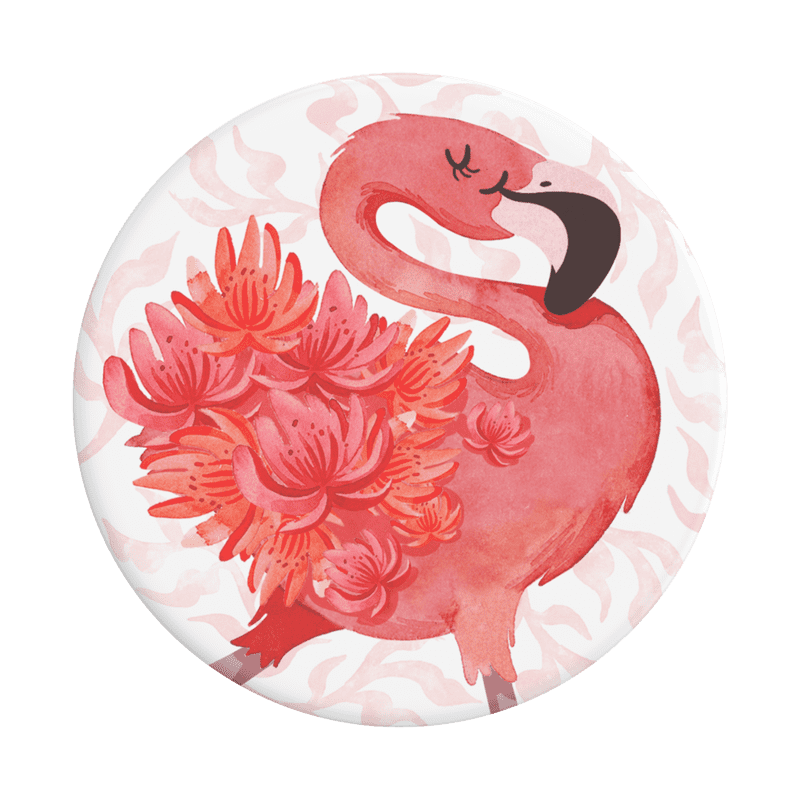 Flamingo a Go Go PopSocket