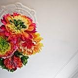 "A Crepe-Paper Flower ""Chandelier"""