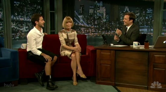 Video: Watch Anna Wintour and Marc Jacobs on Jimmy Fallon Last Night