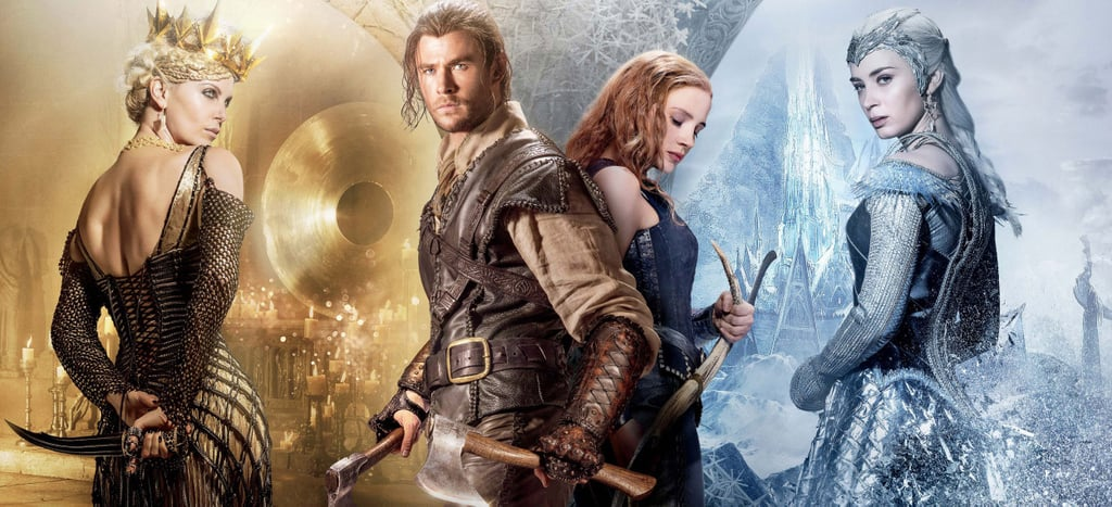 Ravenna, the Huntsman, Sara, and Queen Freya From The Huntsman: Winter's War