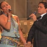 "Performing ""Escapémonos"" With Marc Anthony at the 2010 Grammy Awards"
