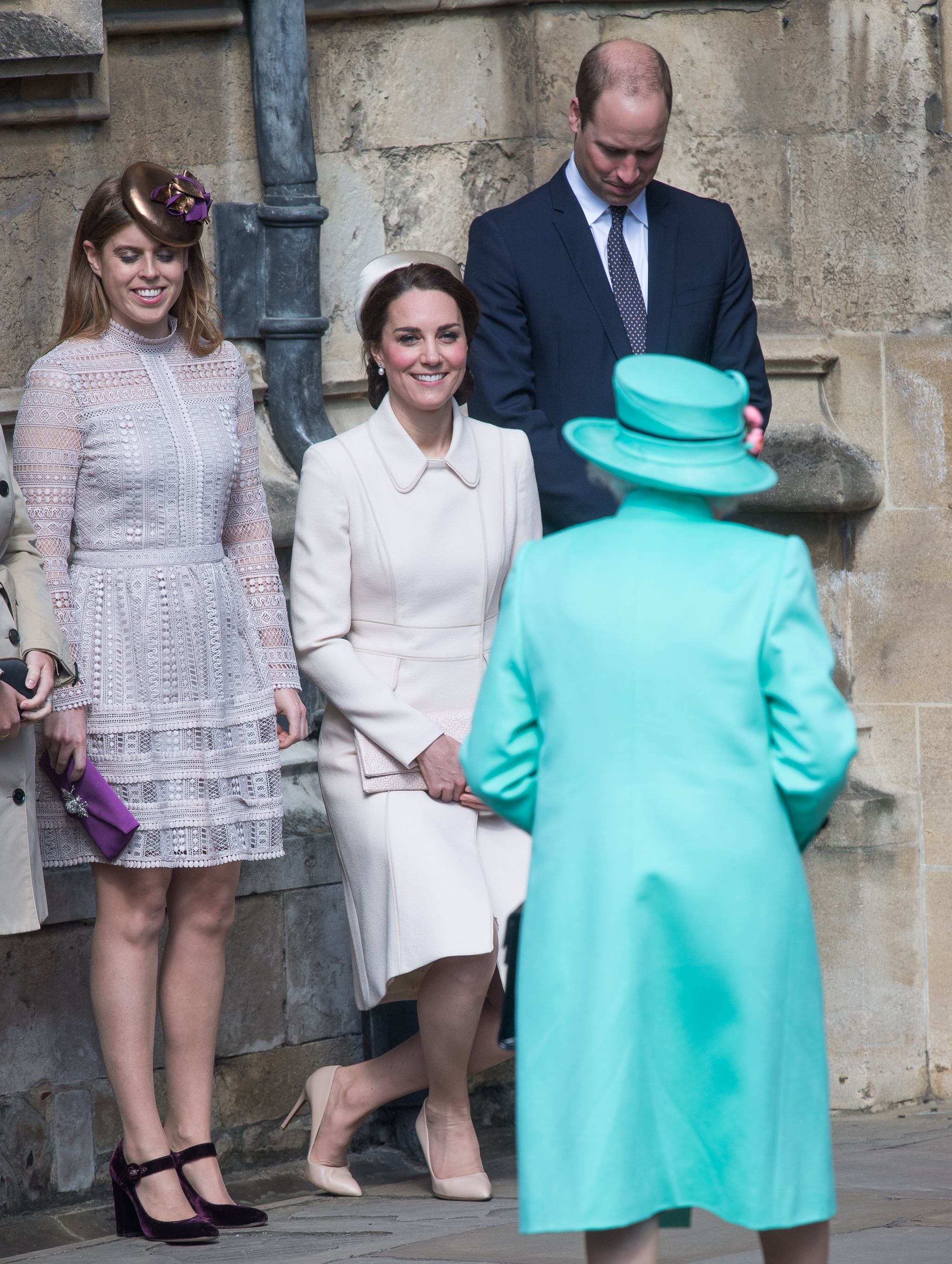 The British Royal Family\'s Rule For Greeting the Queen | POPSUGAR ...