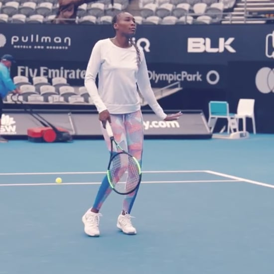 Venus Williams Preparing For Australian Open