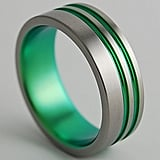 Men's Titanium Wedding Ring ($90)
