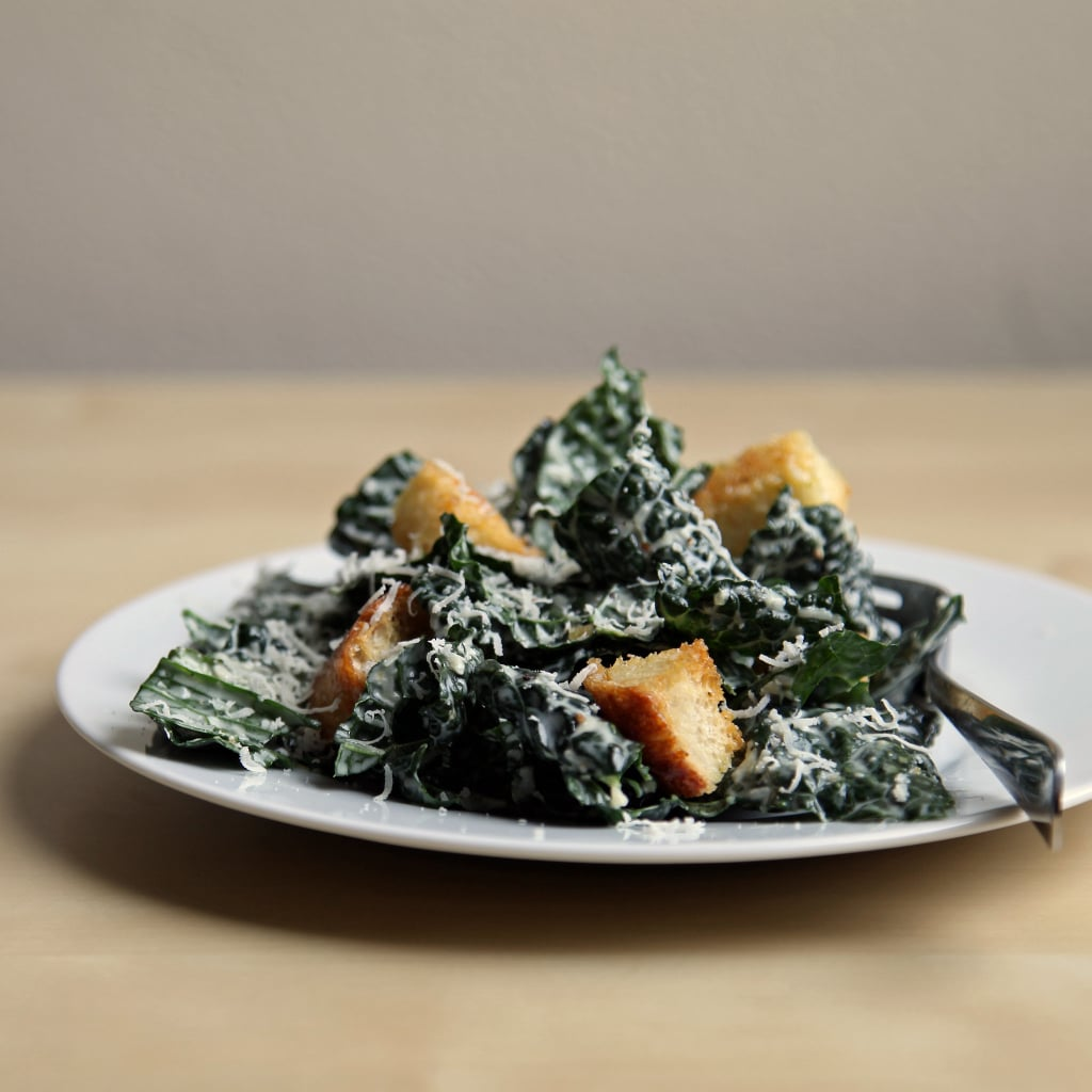Brown-Bag Transformation: Kale Caesar With Steak