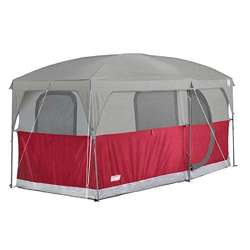 Coleman Hampton 6 Person Family Camping Cabin Tent