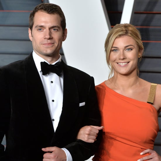 Henry Cavill and Girlfriend Tara King at the 2016 Oscars
