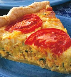 Fast & Easy Dinner: Curried Tuna Quiche