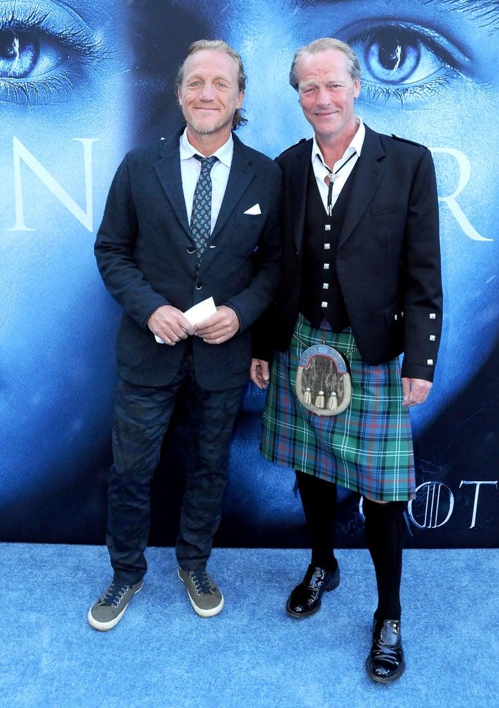 Jerome Flynn and Iain Glen