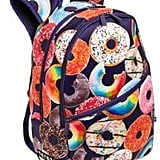 Donut-Print Backpack