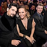 Pictured: Kevin Richardson, Kristin Richardson, Nick Carter, and Lauren Kitt