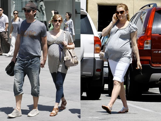 Amy Adams Pregnancy Style