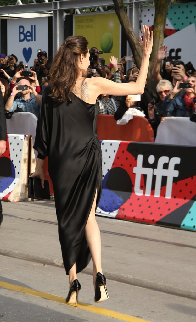 No Matter Which Angle You Stare at Angelina Jolie's Dress From, It's Pure Elegance
