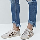 Frayed-Edge Jeans