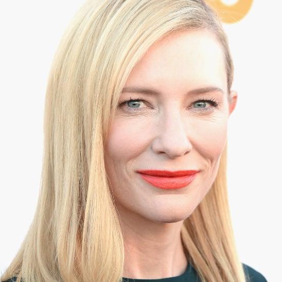 Cate Blanchett Hair and Makeup | Critics' Choice Awards 2014