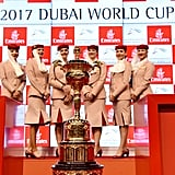 The Dubai World Cup...